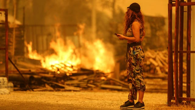 Wildfires engulf Turkey's Turquoise C...