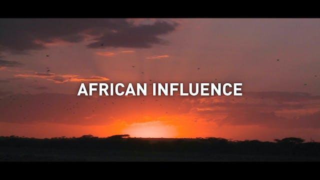 African influence with Nnedi Okorafor...