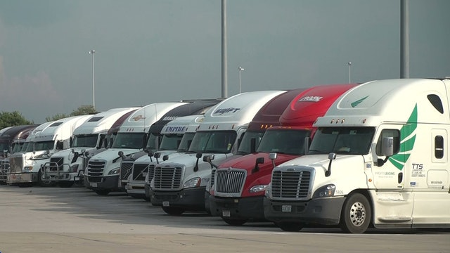 Trade war shifts US trucking industry into reverse