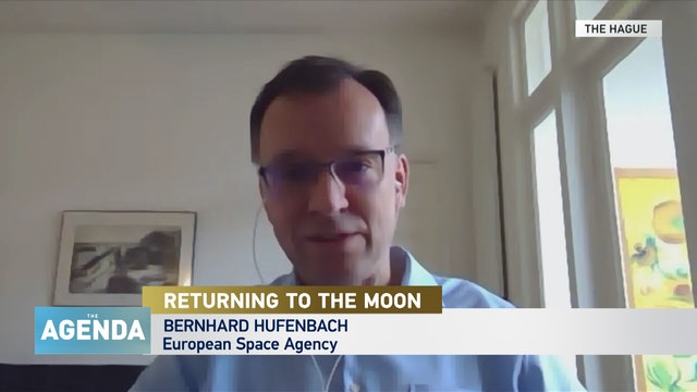 THE MOON: OPEN FOR BUSINESS - #TheAgenda with Stephen Cole