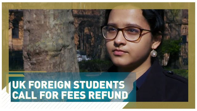 UK foreign students call for fees refund