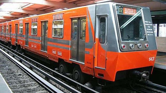 Mexico City Metro marks 50th annivers...