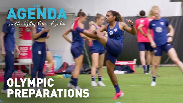 OLYMPIC PREPARATIONS - The Agenda wit...
