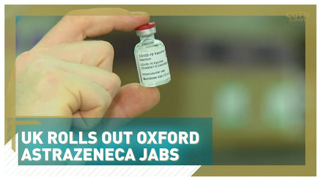 UK rolls out Oxford AstraZeneca jabs