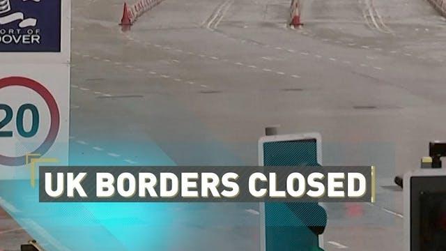 UK borders closed