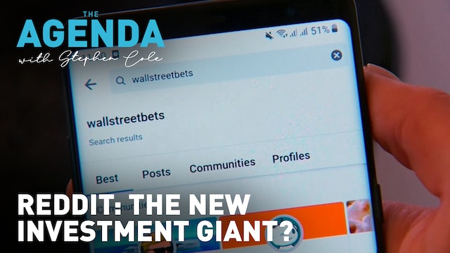 Have Reddit & Robinhood changed investment forever? #TheAgenda with Stephen Cole
