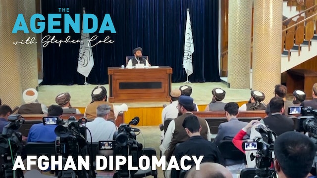 TIME FOR DIPLOMACY - The Agenda with Stephen Cole
