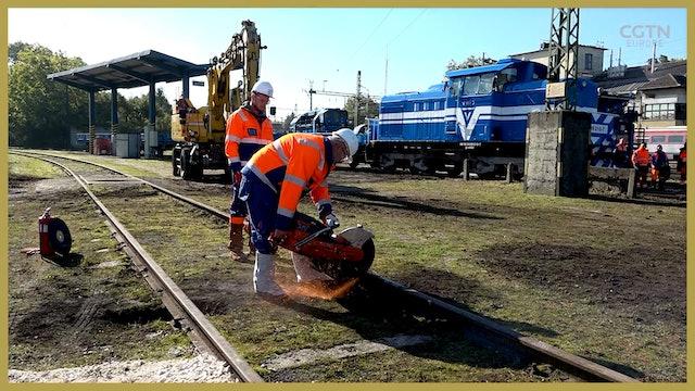 Construction begins on Budapest to Belgrade railway