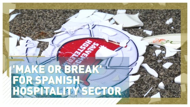 Spain's struggling hospitality sector...