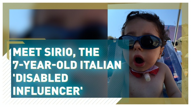 Sirio, the seven-year-old Italian influencer challenging disability stereotypes