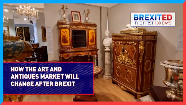 Will Brexit push London out of the art and antiques market spotlight? #BREXITED