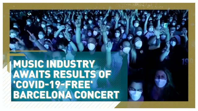 Spain's COVID-19 free concert