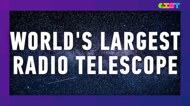 The Biggest TELESCOPE in the world?