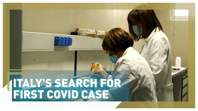 Italy's search for first COVID case