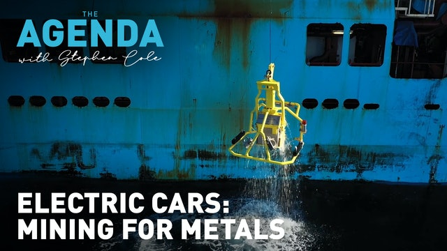 Meet the man mining the ocean for electric car battery metals #TheAgenda