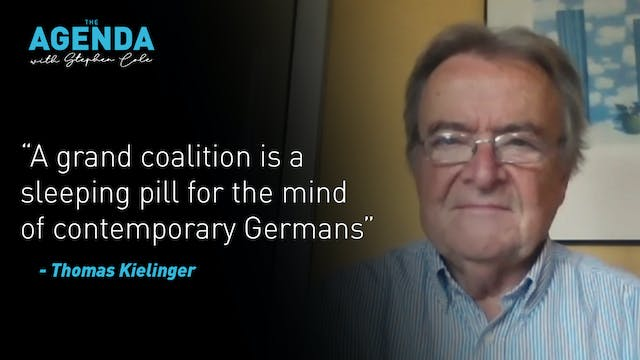 'A grand coalition is a sleeping pill...