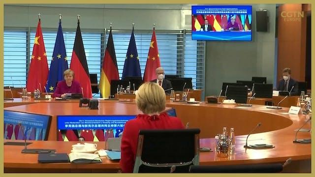 Final China-German summit under Merke...