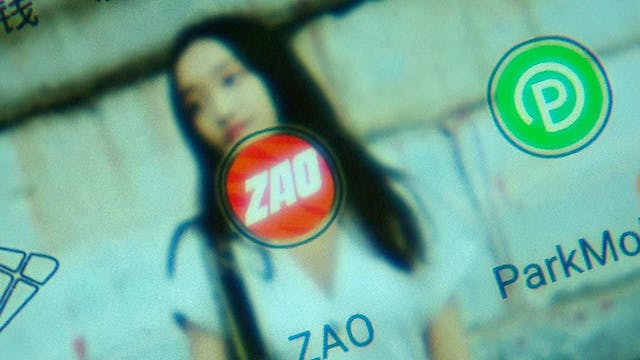 "Face-swapping app ""Zao"" amazes and al..."
