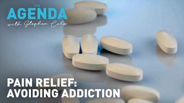 PAIN RELIEF WITHOUT ADDICTION - #TheAgenda with Stephen Cole