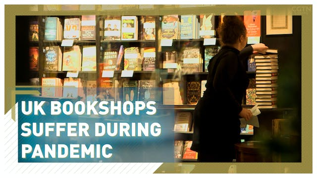 UK bookshops suffer during pandemic