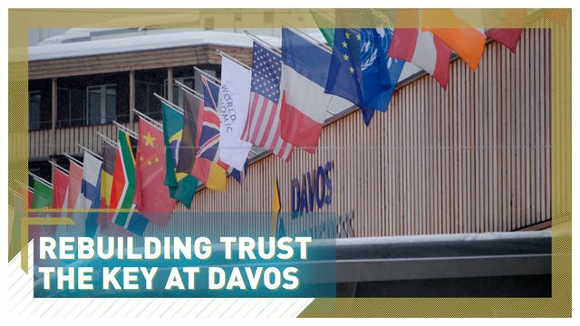 Rebuilding trust the key at Davos