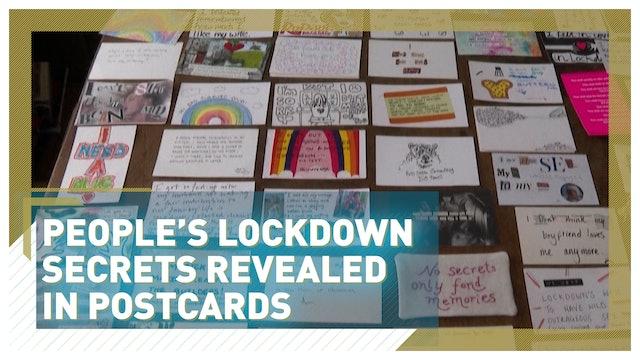 People's lockdown secrets revealed in postcards