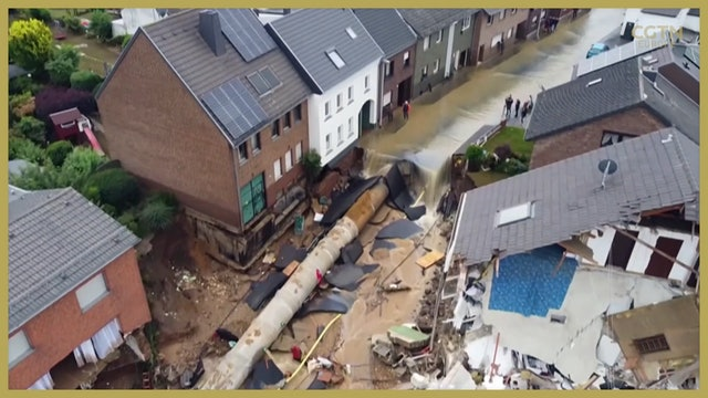 Environmentalists attribute floods that devastated Germany to climate change