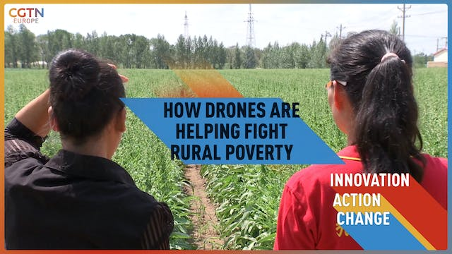 How drones are helping fight rural po...