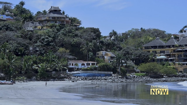 A Mexican village known for its beaches calls for self-isolation