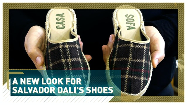 Reinventing espadrilles: A new look for Salvador Dali's shoes