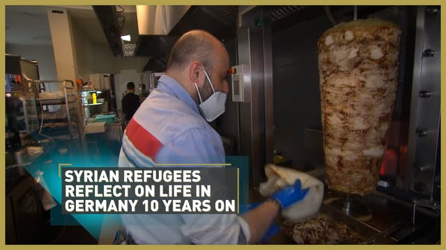 Syrian refugees reflect on life in Ge...