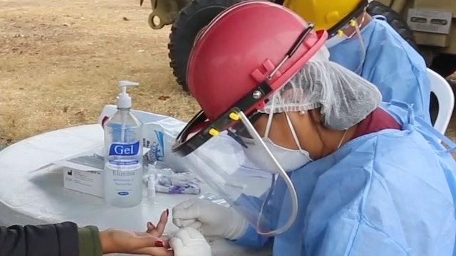 Venezuelans helping fight COVID-19 in Peru