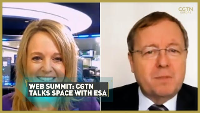 WEB SUMMIT 2020: CGTN talks space wit...