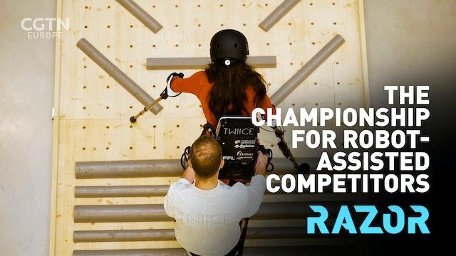 #RAZOR: Cybathlon: The championship for robotics-assisted athletes