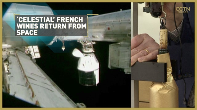 'Celestial' French wines return from space