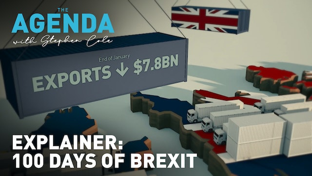 Explainer: The first 100 days of Brexit - #TheAgenda with Stephen Cole