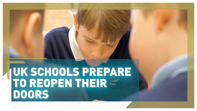 UK schools prepare to open their door...