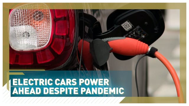 Electric car market outpaces global a...