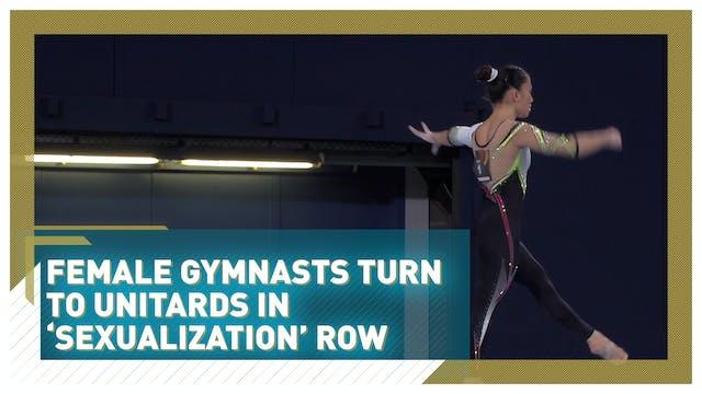 Germany's female gymnastics team turn...