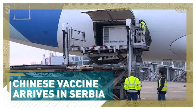 Chinese vaccine arrives in Serbia