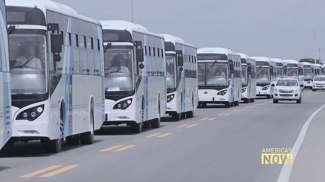 Ecuadorian bus drivers took the highway to electric innovation