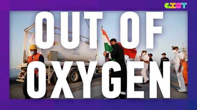 How did India run out of oxygen?