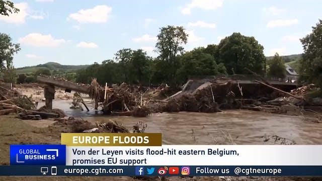 Germany begins clean-up after devasta...