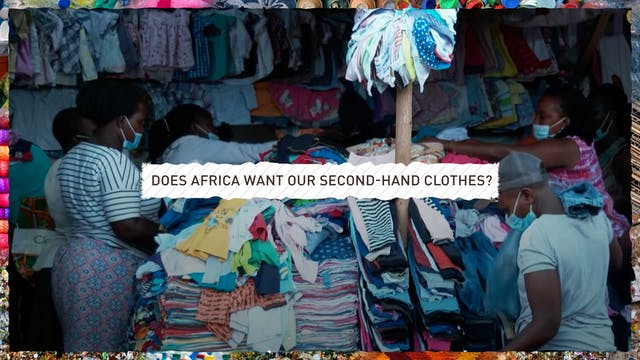 Does Africa want our second-hand clot...