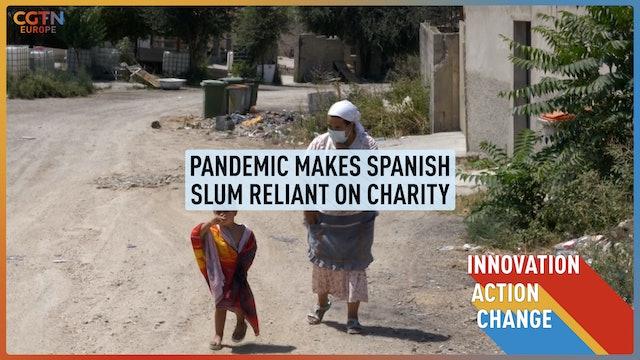 Pandemic makes Spanish slum reliant on charity