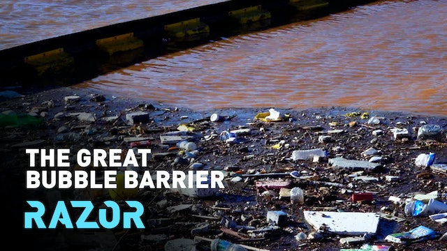 Reducing plastic pollution in our waters - #RAZOR