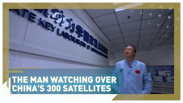 The man watching over China's 300 Satellites