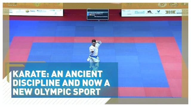Karate: An ancient discipline and now...