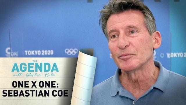 SEBASTIAN COE,  President of World Athletics - The Agenda with Stephen Cole