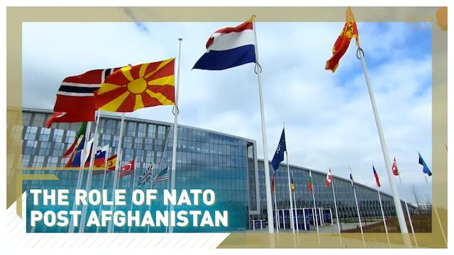 What is the role of NATO post Afghani...